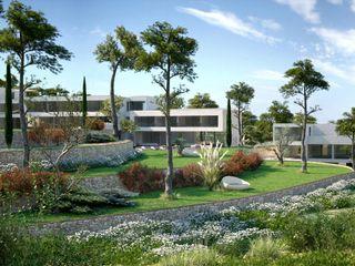 Perspectivas 3D - paisajismo Realistic-design Jardines de estilo mediterráneo