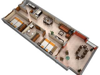 Planos de corte 3D Realistic-design Casas