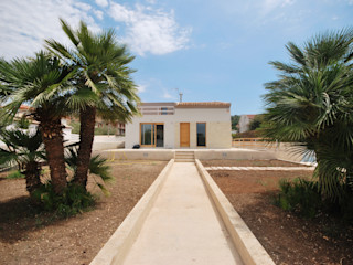 Viviana Pitrolo architetto Rumah Modern
