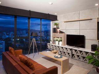 Taller David Dana Arquitectura Modern living room