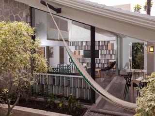 Taller David Dana Arquitectura Modern balcony, veranda & terrace