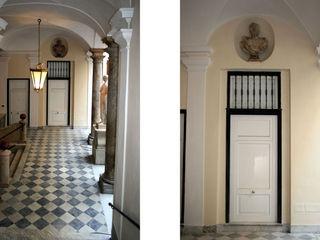"""Restauro atrio e scale Palazzo dei """"Rolli"""" Alessio Costanzo Architetto Case eclettiche"""