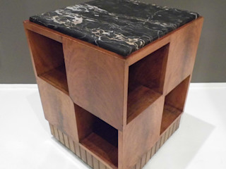 Art Deco Bookcase Table Travers Antiques Living roomSide tables & trays