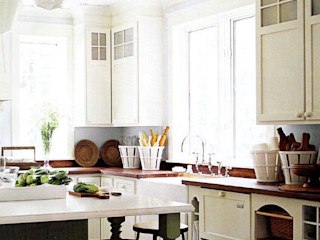 Country style kitchen homify Cocinas rurales