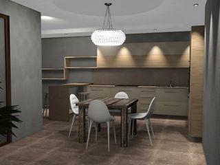 Masi Interior Design di Masiero Matteo Salones de estilo moderno