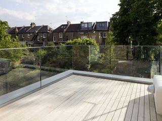 Huddleston Road Sam Tisdall Architects LLP Modern Terrace