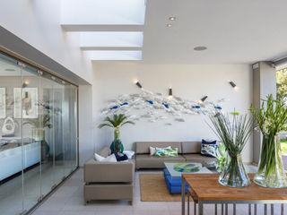 House Shoeman interior C7 architects 现代客厅設計點子、靈感 & 圖片