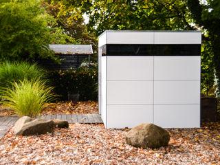 design@garten - Alfred Hart - Design Gartenhaus und Balkonschraenke aus Augsburg Garage / Hangar