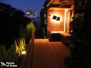 House of Green Modern Terrace