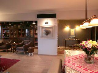 Cadde Bostan Private Apartment Derun Architecture & Interior Design Living room