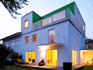 hausbuben architekten gmbh Casas modernas