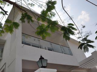 Cubit Architects Балкони, веранди & тераси Аксесуари та прикраси