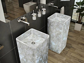 Stonesmiths - Redefining Stoneage Ванна кімнатаРаковини