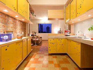Zoom Urbanismo Arquitetura e Design Eclectic style kitchen