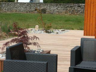 Aménagement terrasse esprit Zen EURL OLIVIER DUBOIS Jardin asiatique