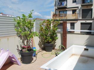 Vicente Galve Studio Balkon, Beranda & Teras Gaya Mediteran