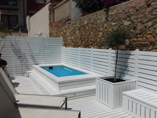Vicente Galve Studio Balcones y terrazas de estilo mediterráneo