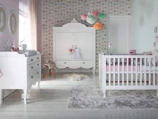 Romance Nursery Furniture Set Adorable Tots Дитяча кімнатаЛіжка та дитячі ліжечка