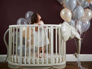Luxury Nursery Furniture Adorable Tots Дитяча кімнатаЛіжка та дитячі ліжечка