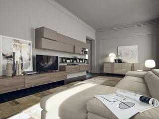 Studio Ferriani SalonesMuebles de televisión y dispositivos electrónicos