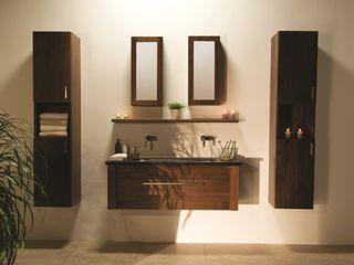Stonearth - Walnut Stonearth Interiors Ltd Modern Bathroom