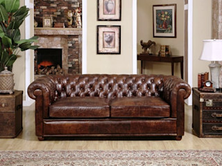Chesterfield Sofa - A Class that Last Locus Habitat 客廳沙發與扶手椅