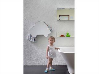 KIDS electric towel warmer MG12 BathroomTextiles & accessories Aluminium/Zinc White