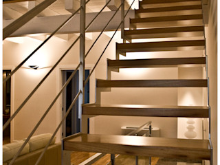 Ignazio Buscio Architetto Corridor, hallway & stairs Stairs