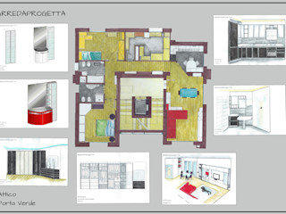 Arreda Progetta di Alice Bambini Moderne huizen