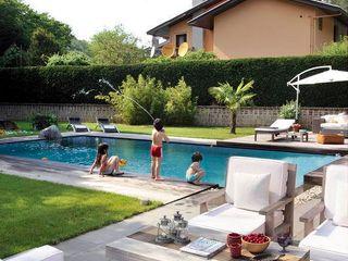 EK HOUSE SAKLIKORU Esra Kazmirci Mimarlik Modern balcony, veranda & terrace