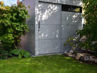 design@garten - Alfred Hart - Design Gartenhaus und Balkonschraenke aus Augsburg Jardin moderne Bois composite