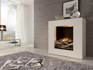 Kamin-Design GmbH & Co KG LivingsChimeneas y accesorios Tablero DM Blanco