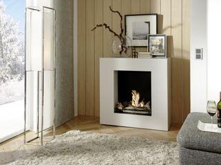 Kamin-Design GmbH & Co KG WoonkamerOpen haarden & accessoires MDF Wit