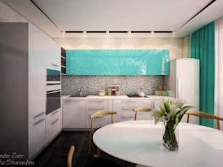 Студия интерьерного дизайна happy.design Modern kitchen