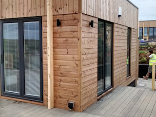 Gwel an Mor Lodges - Cornwall (Turnkey Builds) Building With Frames Modern Houses Wood