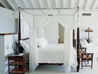 Egyptian Cotton Bedrooms by King of Cotton King of Cotton QuartoCamas e cabeceiras Algodão Branco