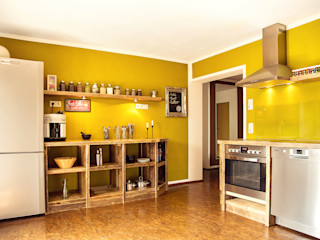 kitchen custom-made edictum - UNIKAT MOBILIAR Cocinas rústicas