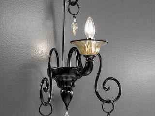 Blown Murano glass wall lamp. Vetrilamp ArtePiezas de arte