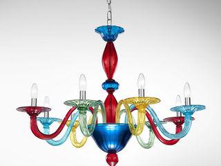 Chandeliers in Murano Glass Vetrilamp ArtePiezas de arte
