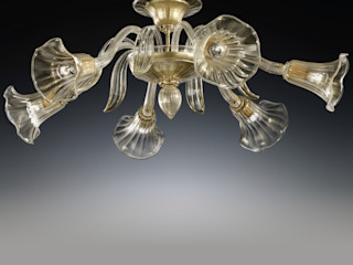 Ceiling Murano glass lamps Vetrilamp ArtePiezas de arte