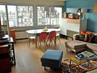 Appartement contemporain - 75010 Espaces à Rêver Salon moderne