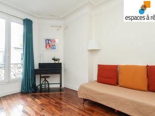 Appartement haussmanien chic - 75005 Espaces à Rêver Salon moderne