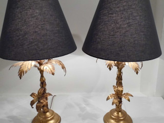 Vintage Palm Lamps Travers Antiques Living roomLighting