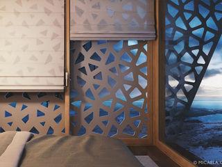 Unboxed - Prefab Mediterranean Wooden House Barberio Colella Architetti 臥室