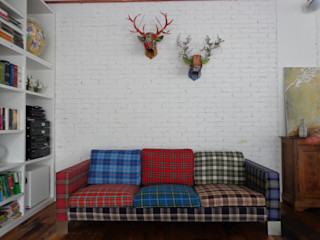 Massimo Adiansi Architetto Living roomLighting