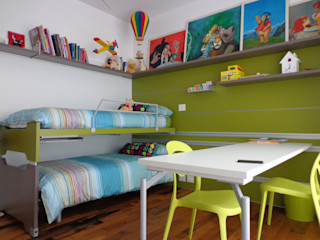 Massimo Adiansi Architetto Modern style bedroom