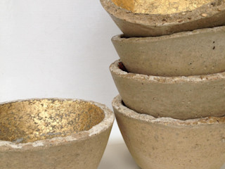 Small concrete bowls An Artful Life MaisonAccessoires & décoration