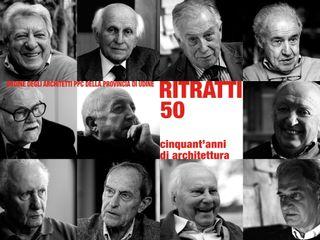 RITRATTI 50 - 50 ANNI DI ARCHITETTURA Elia Falaschi Fotografo Studio in stile classico