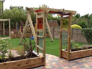 Garden playground Timotay Playscapes Klasik Bahçe