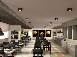 Masi Interior Design di Masiero Matteo Centros comerciales de estilo mediterráneo